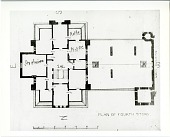 view Plan of Fourth Story, East Wing, Smithsonian Institution Building digital asset number 1