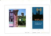 view Fence Sign for WiFi at the Smithsonian Institution digital asset number 1