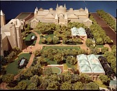 view Model of the Quadrangle Viewed from the West digital asset number 1