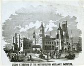 view Second Exhibition of the Metropolitan Mechanics' Institute digital asset number 1