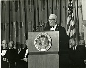 view Chief Justice Warren Speaking at the Museum of History and Technology Dedication digital asset number 1