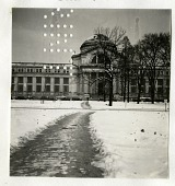 view Snow on the National Mall in Front of the Natural History Building digital asset number 1