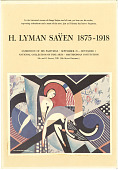 view Exhibition Records digital asset: Poster for the exhibition of paintings by H. Lyman Sayen (1875-1918) in the National Collection of Fine Arts. (Image no. SIA2011-2673)