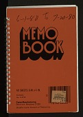 view Field notebooks, 1979-1980 : 6-1-80 to 7-20-80 digital asset number 1