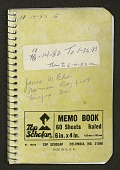 view Field notebooks, 1980-1983 : 11-14-82 to 1-26-83 then to 6-4-83 digital asset number 1