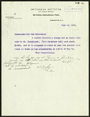 view Correspondence digital asset: Includes Memorandum for the Secretary, June 18, 1902