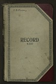 view Collection number book, nos. 15800-18199, Sept. 1938 – May 1941 digital asset number 1