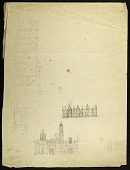 view Sketches of the Smithsonian Institution Building digital asset number 1