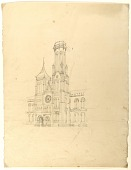 view Perspective of the Smithsonian Institution Building's North Tower digital asset number 1