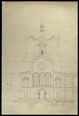 view Preliminary Study of the Smithsonian Institution Building's South Tower digital asset number 1
