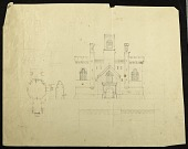 view Elevation of the Smithsonian Institution Building's East Wing digital asset number 1