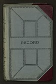 view F. R. Fosberg field notebook no. 53, beginning with # 39651, ending with # 39809 digital asset number 1
