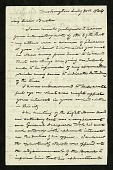 view Joseph Henry's Letter to Alexander Bache (July 30, 1864) digital asset number 1