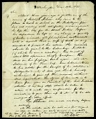 view Letter from William Elliot to John Quincy Adams, President of the Columbian Institute, December 19, 1822 digital asset number 1
