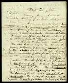 view Watercolor Accompanying Letter from H. Meigs to Joseph Meigs, June 7, 1820 digital asset number 1