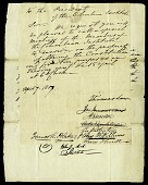 view Letter to Edward Cutbush, President of the Columbian Institute from five members of the General Committee, April 7, 1817 digital asset number 1