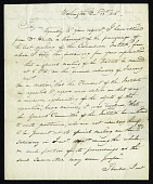 view Letter from Edward Cutbush to Benjamin Homans, December 13, 1816 digital asset number 1