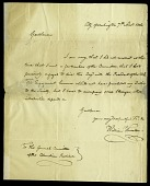 view Letter from William Thornton to the General Committee of the Columbian Institute, November 7, 1816 digital asset number 1