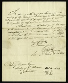 view Letter from Edward Cutbush to Asbury Dickens, Secretary of the Columbian Institute, December 9, 1826 digital asset number 1