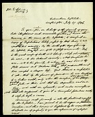 view Form of a letter from Asbury Dickens to John Quincy Adams and M. Randolph, July 27, 1826 digital asset number 1