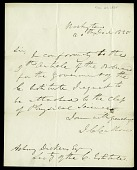 view Letter from John C. Calhoun to Asbury Dickens, Secretary of the Columbian Institute, December 20, 1825 digital asset number 1