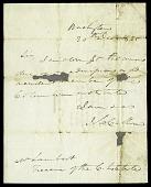 view Letter from the Honorable John C. Calhoun to William Lambert, Treasurer of the Columbian Institute, December 20, 1825 digital asset number 1