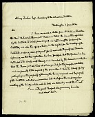 view Letter from John Quincy Adams to Asbury Dickens, Secretary of the Columbian Institute, June 1, 1824 digital asset number 1