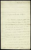 view Letter from Louis de Rochelle to the Gentlemen and Members of the Columbian Institute, March 21, 1831 digital asset number 1