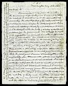 view Joseph Henry's Letter to Alexander Dallas Bache (August 13, 1863) digital asset number 1