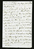 view Joseph Henry's Letter to Alexander Dallas Bache (October 3, 1863) digital asset number 1
