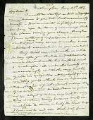 view Joseph Henry's Letter to Alexander Dallas Bache (June 25 - July 9, 1852) digital asset number 1