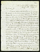 view Joseph Henry's Letter to Spencer Fullerton Baird (August 16, 1862) digital asset number 1
