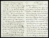 view Joseph Henry's Letter to Spencer Fullerton Baird (August 12, 1866) digital asset number 1