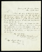 view Robert M. Patterson's Letter to Joseph Henry (January 27, 1841) digital asset number 1