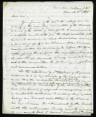 view Joseph Henry's Letter to Francis Dwight (March 3, 1845) digital asset number 1