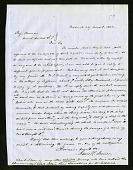 view Lewis H. Steiner's Letter to Edward Foreman (June 3, 1852) digital asset number 1