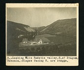 view [III] 3. Looking west in Radotin valley, south of Prague, Bohemia. Slopes facing south are steppe digital asset number 1