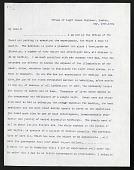 view Joseph Henry's Letter to Harriet Henry (May 18, 1864) digital asset number 1