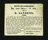 view Hotel de Normandie Newspaper Clipping digital asset number 1