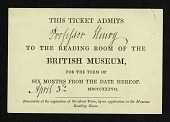 view British Museum Ticket digital asset number 1