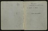view Book 20, identification list, specimen no. 1167-2871, 1937 and undated digital asset number 1