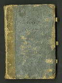 view Notebook kept by Rafinesque on a trip from Philadelphia to Kentucky, 1818 digital asset number 1