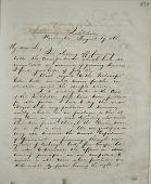 view Joseph Henry's Letter to Felix Flugel (August 17, 1868) digital asset number 1