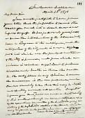 view Joseph Henry's Letter to Hannibal Hamlin (April 22, 1870) digital asset number 1