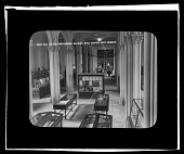 view Main Hall of the Smithsonian Building with Graphic Arts Exhibits digital asset number 1