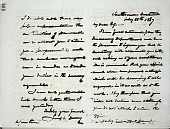 view Joseph Henry's Letter to Benjamin Peirce (February 25, 1867) digital asset number 1