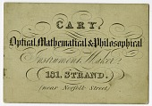 view Cary Instrument Maker Business Card digital asset number 1