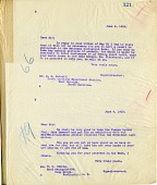 view National Zoological Park General Letters October 20, 1917 to October 21, 1918, Page 321 digital asset number 1