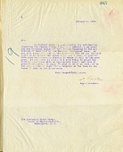 view National Zoological Park General Letters October 20, 1917 to October 21, 1918, Page 485 digital asset number 1