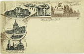 view Postcard of Notable Sites in DC digital asset number 1